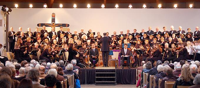 """Konzert in der Fastenzeit aus Anlass von """"100 Jahre Schönstatt"""" (Foto: Brehm)"""