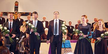 Thilo Dahlmann, Andreas Karasiak, Herman Wagener, Diana Schmid, Susanna Martin (v.l.n.r.)  (Foto: Brehm)