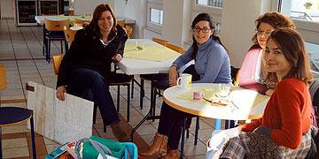 Damit ging es los: Büros einrichten, Räume reinigen, Arbeitsvoraussetzungen schaffen (Foto: Gamper)