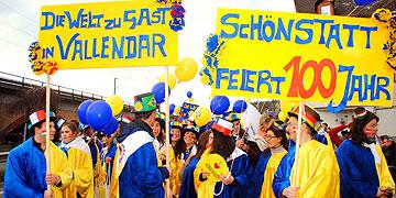 Spaß haben und Miteinander erleben, mitten unter der großen Gruppe Schönstätter (Foto: Gamper)