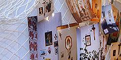 Das Netz der Hausheiligtümer im Heiligtum der Familien in Vallendar-Schönstatt (Foto: Brehm)