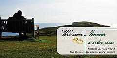"""Ehepaar-Newsletters """"Wir zwei - Immer wieder neu"""" (Foto: © T.Brehm)"""