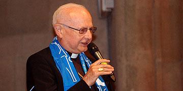 Glaubenszeugnis: Erzbischof Dr. Robert Zollitsch, Freiburg (Foto: Brehm)