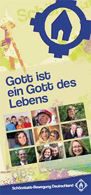 Schönstatt-Info-Broschüre zum Katholikentag