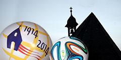 Schönstatt-Jubiläum und WM in Brasilien (Montage: Hbre)