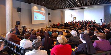 Der Maiempfang der Schönstatt-Bewegung Deutschland fand am 10.5.2014 im Pater Kentenich Haus statt (Foto: Brehm)