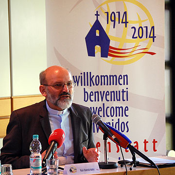 Pater Heinrich Walter, Generaloberer der Schönstatt-Patres und Vorsitzender des internationalen Generalpräsidiums der Schönstatt-Bewegung (Foto: Brehm)