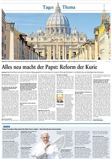 Seite in der Rhein-Zeitung vom 5. Juli 2014 (Foto: RZ)