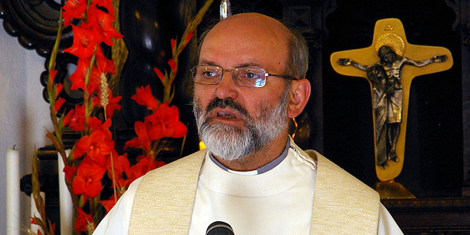 Pater Heinrioch Walter, Vorsitzender des Generalpräsidiums des internationalen Schönstattwerkes (Foto: Neiser)