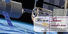 """Ehepaar-Newsletters """"Wir zwei - Immer wieder neu"""" (Foto: © ESA-Illustration)"""