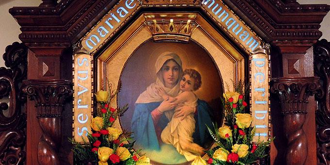 Die Dreimal Wunderbare Mutter und Königin von Schönstatt (Foto: SICT)