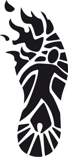 Das Logo des Fackellauf-Projektes der Schönstatt-Mannesjugend (Foto: fackellauf2014.org)