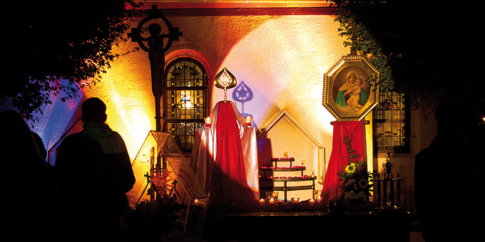 Die Nacht des Heiligtums wird seit 2005 in Schönstatt gefeiert (Foto: Brehm)