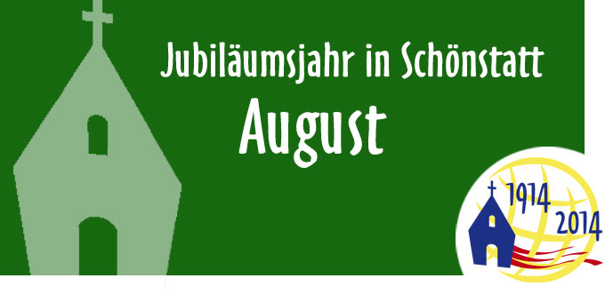 Jubiläumsjahr in Schönstatt, August (Grafik: Brehm)