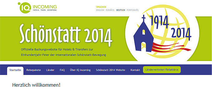 Website www.schoenstatt.iq-incoming.de