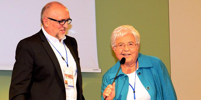 Maria Voce, Präsidentin der Fokolar-Bewegung und Kopräsident Jesús Morán (Foto: Fokolar-Bewegung SIF)
