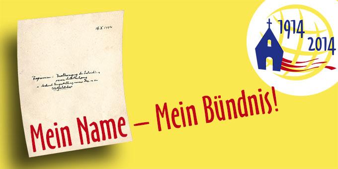 Mein Name - Mein Bündnis! (Foto: Brehm)