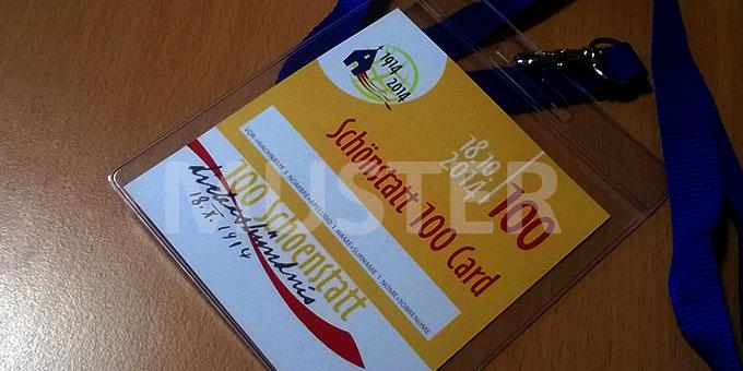 """Mit der """"Schönstatt 100 Card"""" erhalten alle Karteninhaber am 18. Oktober kostenfreien Zugang zum Veranstaltungsgelände (Foto: Brehm)"""