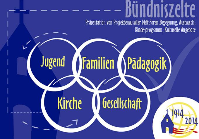 Bündniskulturzelte (Foto: schoenstatt2014.org)