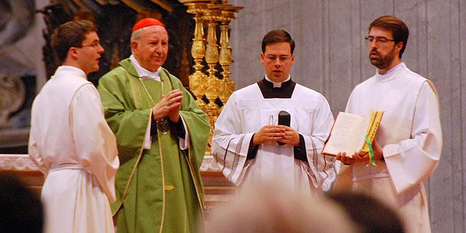 Gottesdienst mit Francisco Javier Kardinal Errázuriz Ossa, emeritierter Erzbischof von Santiago de Chile  (Foto: Brehm)