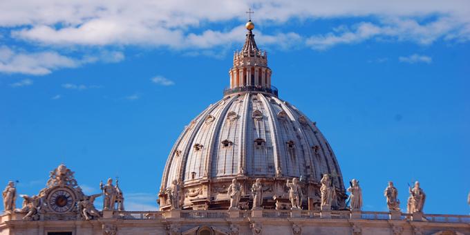 Sendungsgottesdienst für die Schönstatt-Bewegung im Petersdom in Rom (Foto: Brehm)