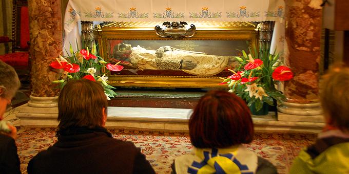 Grab des Heiligen Vinzenz Pallotti (Foto: Brehm)
