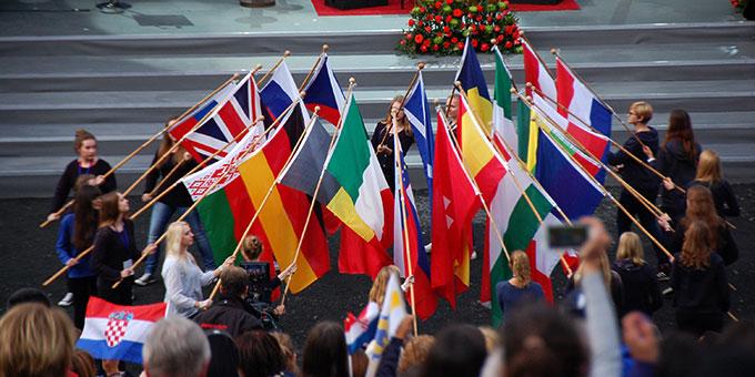 Internationale Eröffnungsfeier (Foto: Brehm)