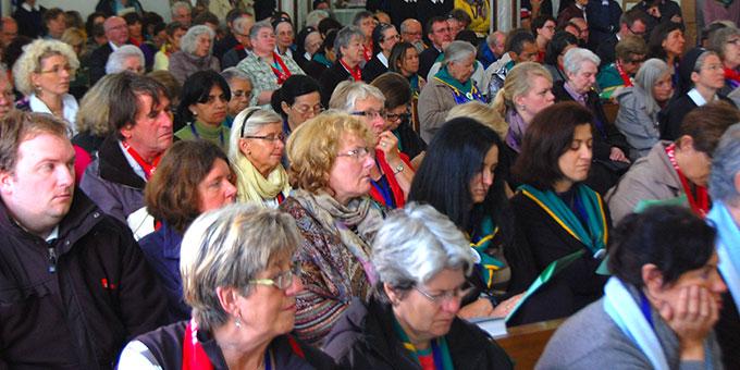 Die Hochschulkirche war gut gefüllt (Foto: Brehm)