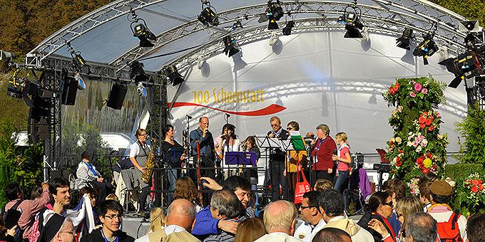 Esperamor & Freunde sorgten für die musikalische Gestaltung (Foto: Kröper)