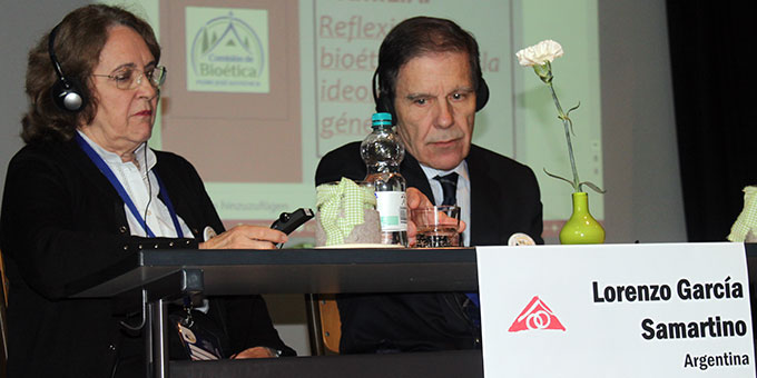 Ana und Lorenzo Garcia Samartino (Foto: MD)