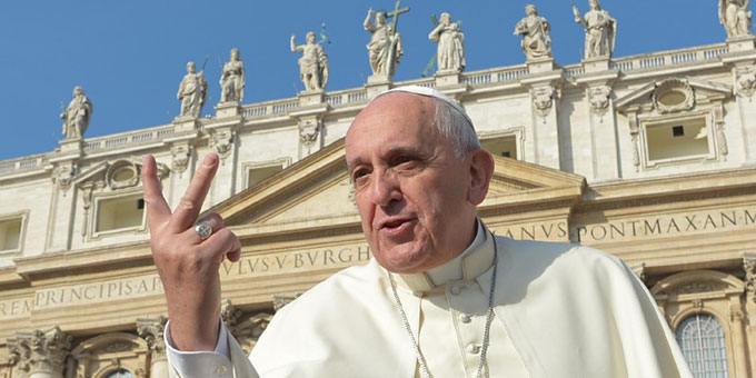 Dem heiligen Vater ganz nah (Foto: L'Osservatore Romano)