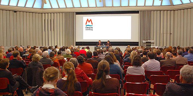Podium beim Rhein-Meeting 2014 zum Thema Europa (Foto: Brehm)