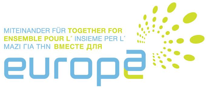 Logo Miteinander für Europa