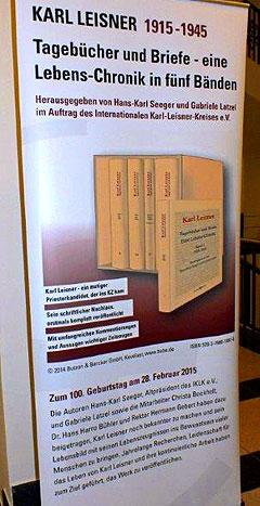 Leisner-Lebens-Chronik Rollup (Foto: Bühler)