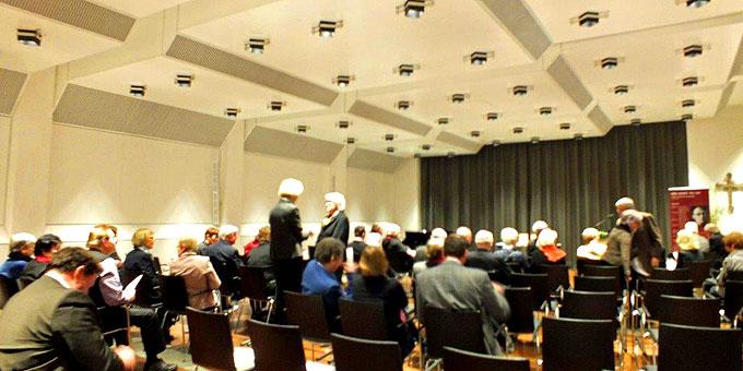 Etwa 80 Personen kamen zur Vorstellung der Chronik übder das Leben von Karl Leisner (Foto: Bühler)