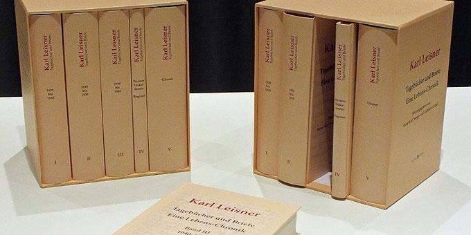 Die Leisner-Chronik im Schuber (Foto: Bühler)