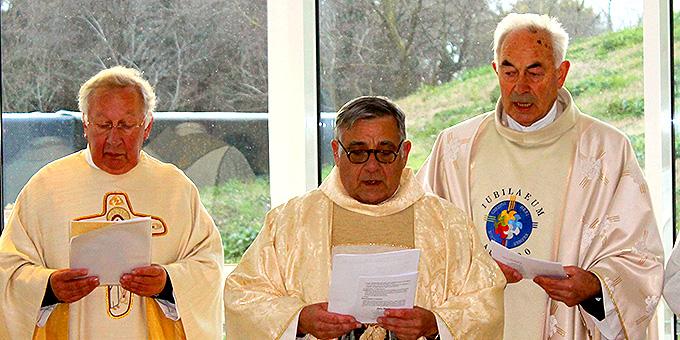 Gottesdienst im DOMUS PATER KENTENICH mit Übergabe der Ernennungsurkunde (Foto: Ali Sol)