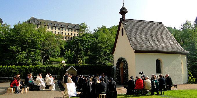 Pfingstkongress zur Heiligen Messe am und im Urheiligtum  (Foto: Sr. Nilza)