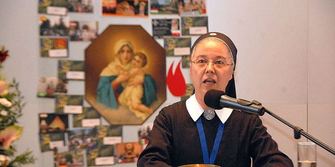 Schwester M. Nilza P. da Silva, Beauftragte für die Kommunikation in der Schönstatt-Bewegung Brasilien (Foto: Brehm)