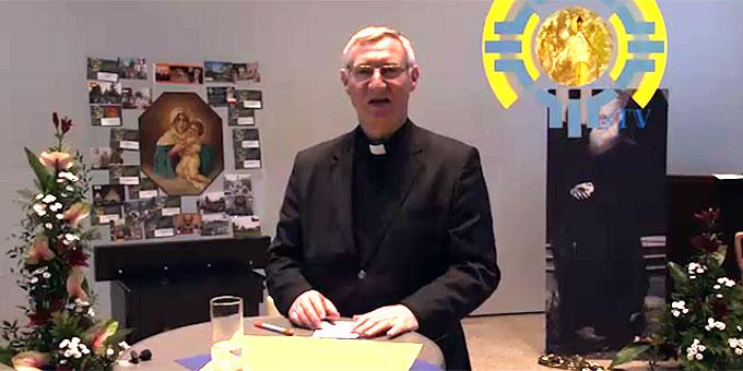 Statement von Pater Ludwig Güthlein und Fr. Jesus Ferras zum ersten Tag des Pfingstkongresses  (Foto: schoenstatt-tv)