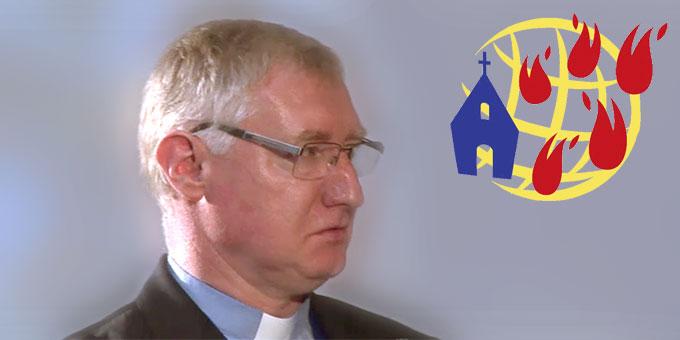 Pater Ludwig Güthlein im Interview (Foto: S-TV)