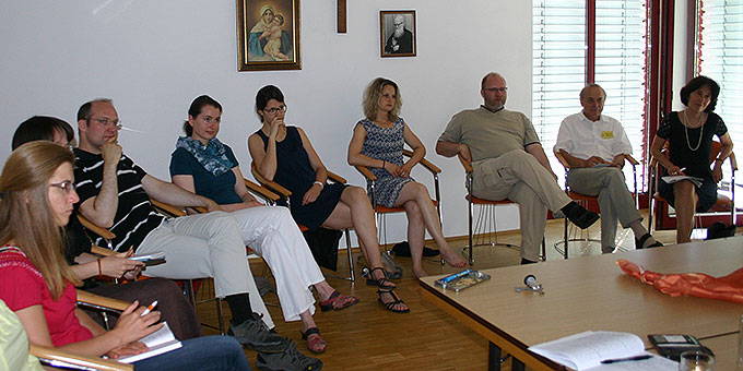 Workshop mit Dr. Rita Pécsi (Foto: Erhard)