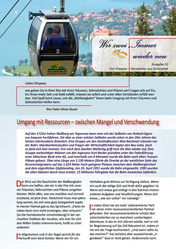 """Ehepaar-Newsletter 08/2015 """"Wir zwei - Immer wieder neu"""" (Foto: © Thomas Plettenberg)"""