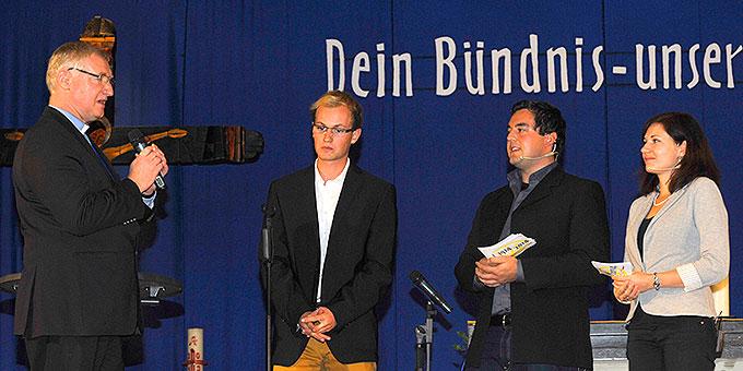 """Statement und Moderation beim Forum """"Schönstatt im Dialog"""" (2013) zum Thema Maria (Foto: Kröper)"""