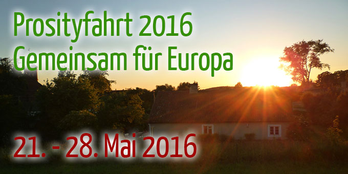Prosityfahrt 2016