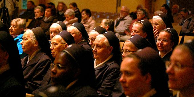 Über 400 Pilger trafen sich zur Maieröffnung in der Pilgerkirche Schönstatt (Foto: Brehm)