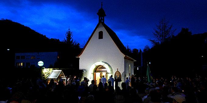 Abschluss der Maieröffnung am Urheiligtum in Vallendar-Schönstatt (Foto: Brehm)