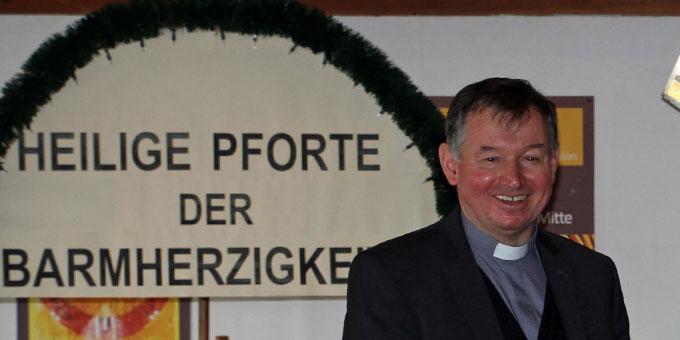 Pater Dr. Otto Amberger stand als geistlicher Begleiter auch für persönliche Gespräche zur Verfügung (Foto: Straubmeier)