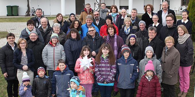 Die Teilnehmerinnen und Teilnehmer des Tages für Paare und Familien im Schönstattzentrum Canisiushof (Foto: Straubmeier)