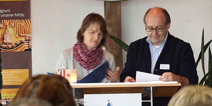 Familientrainer Erwin und Christine Hinterberger (Foto: Straubmeier)